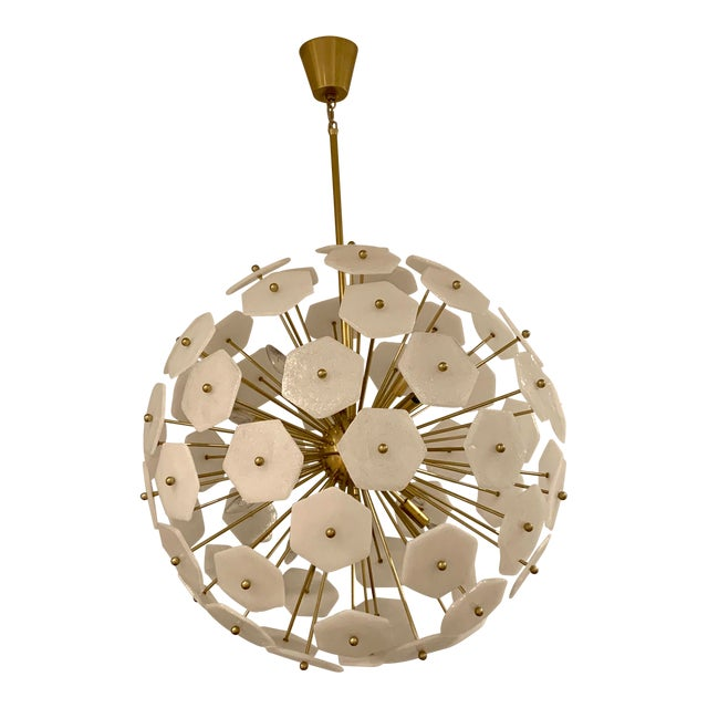 Jonathan Adler Vienna Globe Chandelier Light Pendant For Sale