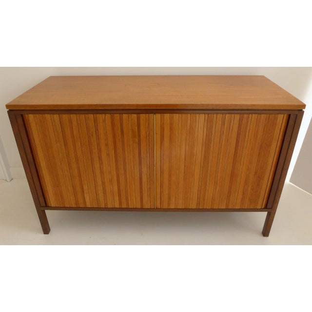 Tambour Front Cabinet by Edward Wormley - Image 4 of 11