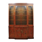 Image of Drexel Heritage Chinoiserie Display Cabinet For Sale