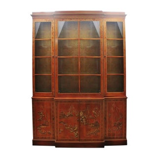 Drexel Heritage Chinoiserie Display Cabinet For Sale