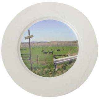 """Upstate Collection"" Porcelain Charger/Serving Plate For Sale"