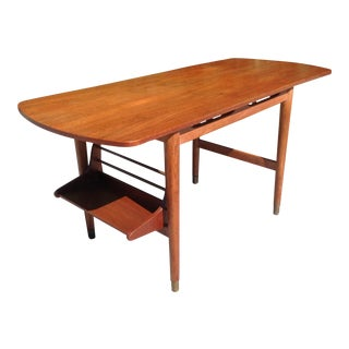 Danish Modern Teak Console/Coffee Table For Sale