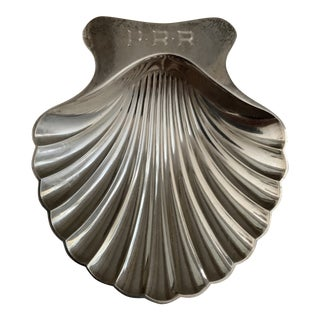 Sterling Silver Tiffany Scallop Shell For Sale