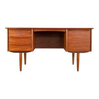 Svend A. Madsen Danish Teak 2-Sided Desk for Falster Møbelfabrik For Sale