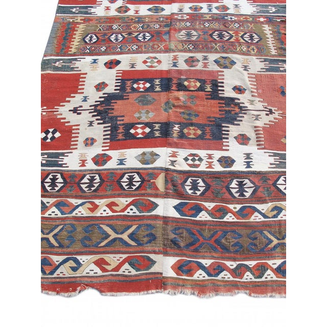 Islamic Karapinar Kilim Rug - 5′4″ × 13′ For Sale - Image 3 of 6