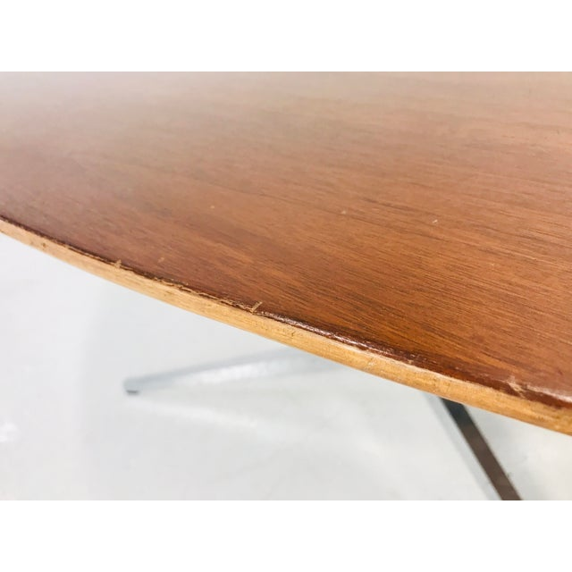 Florence Knoll Florence Knoll Dining Table/Desk/Conference Table For Sale - Image 4 of 8