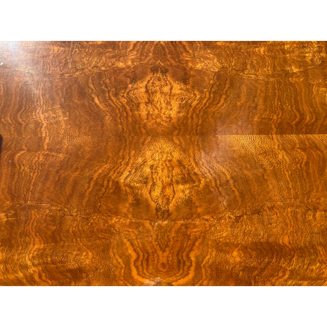 1980s Henredon Burl Nightstand Tables with Granite Tops - a Pair For Sale - Image 9 of 13