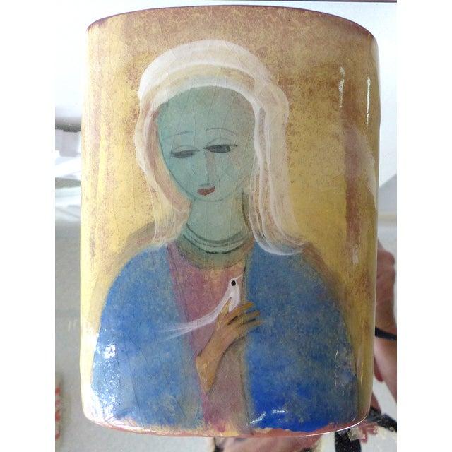 Polia Pillin Mid-Century Ceramic Vase - Image 10 of 10