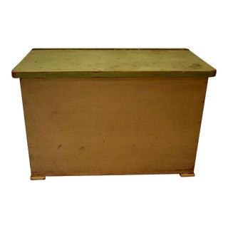Vintage Painted Pine Storage For Sale