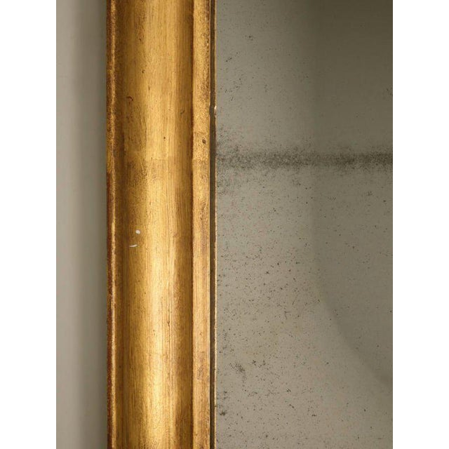 Mid 19th Century French Louis Philippe Gilt Mirror, Circa 1850 For Sale - Image 5 of 12