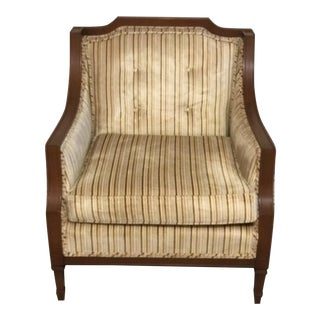 Vintage Striped Beregere Chair
