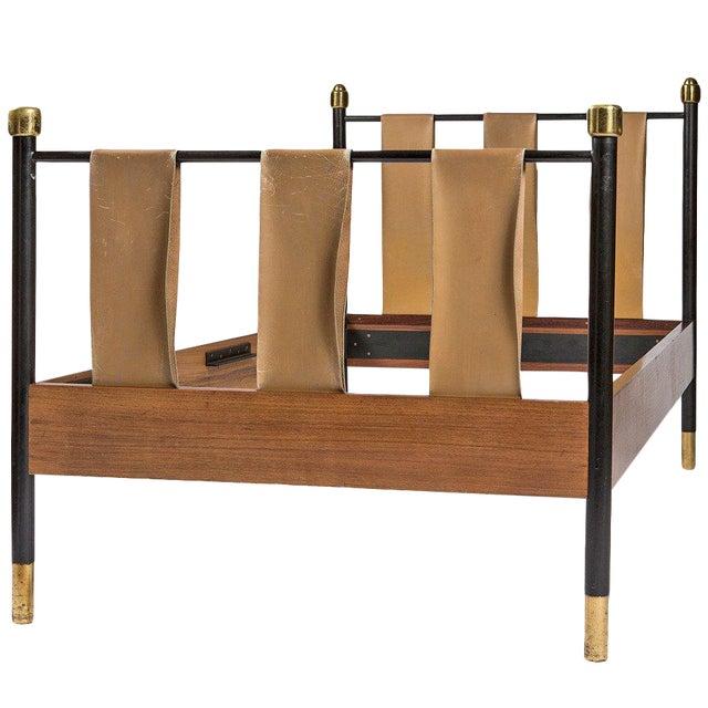 Italian Fifties Single Bed For Sale