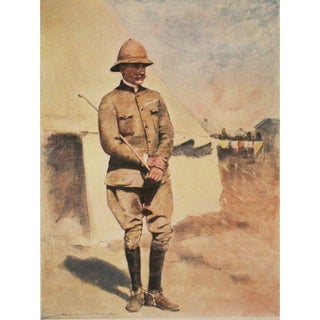 1901 Prince Francis of Teck by M. Menpes, Original Lithograph For Sale