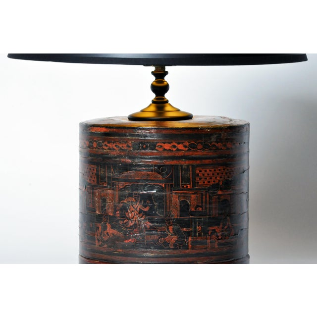 Early 20th Century Betel Nut Box Lamp For Sale - Image 5 of 11