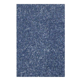 Solid Plain Dense Blue Rug - 6'8'' x 10'