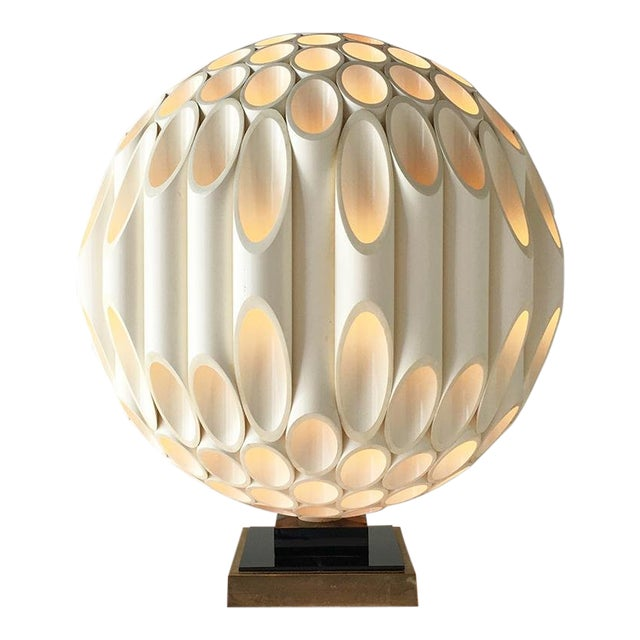 Rare Spherical Rougier Designed Table Lamp Late 1970s For Sale
