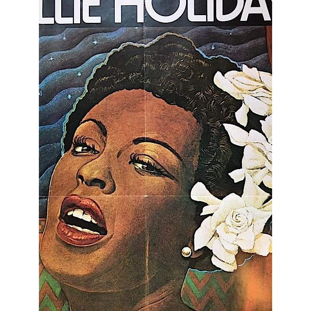 Vintage Billy Holiday Poster - Image 4 of 4