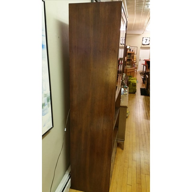 Thomasville Campaign Style Display Cabinet - Image 5 of 12