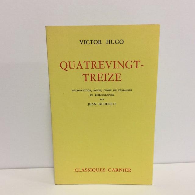 """Black """"Quatrevingt-Treize"""" by Victor Hugo For Sale - Image 8 of 8"""