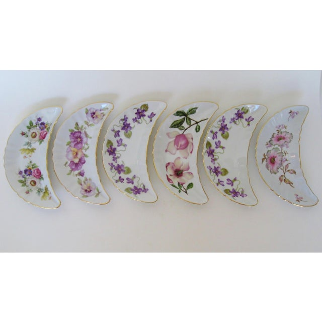 Bavarian Appetizer Dishes - Set of 6 For Sale - Image 4 of 5