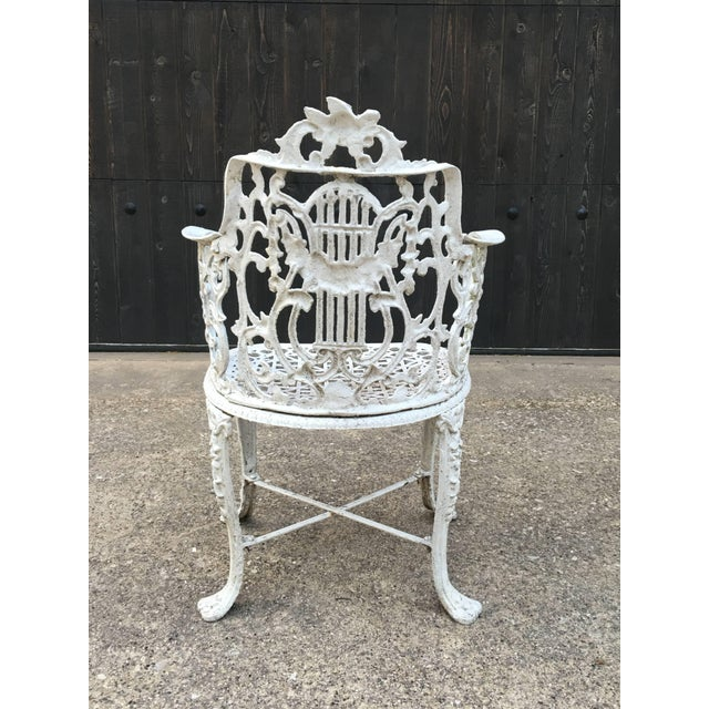 Robert Wood Foundry Cast Iron Seven-Piece Garden Set For Sale In Dallas - Image 6 of 10