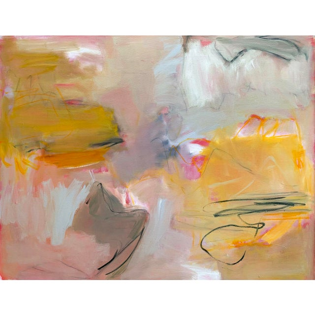 """""""Sirocco"""" by Trixie Pitts XL Abstract Expressionist Oil Painting For Sale - Image 13 of 13"""