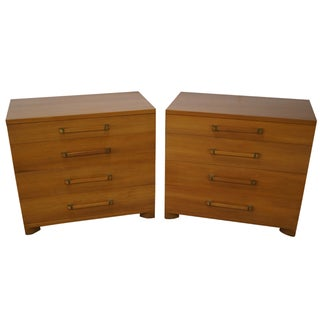 Widdicomb Mid-Century Four-Drawer Chests - A Pair For Sale