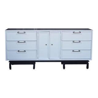 American of Martinsville White Credenza Dresser