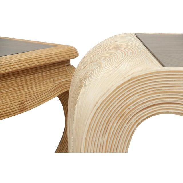 Gabriella Crespi Ming Gabriella Crespi Pencil Bamboo End Tables - a Pair For Sale - Image 4 of 5