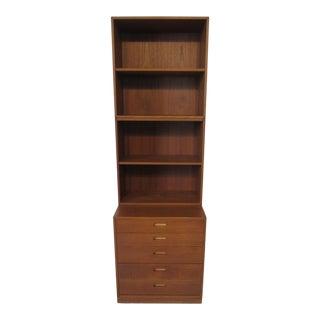 Eric Brouer Teak Bookcase for Brouer Mobelfabrik Denmark For Sale