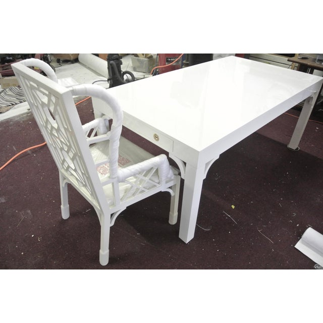 2010s Boulevard Parsons Table by Lilly Pulitzer For Sale - Image 5 of 13