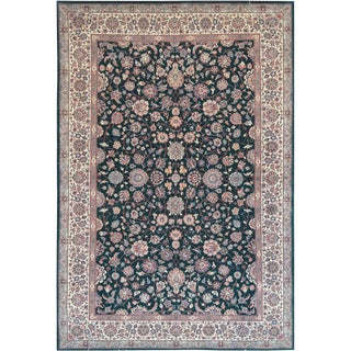 Mansour Fine Handwoven Tabriz Rug - 6' X 9' For Sale