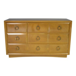 t.h. Robsjohn Gibbings 5 Drawer Dresser For Sale