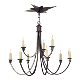 Venetian Medium Two-Tier Chandelier