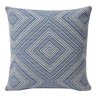 Schumacher Indoor/Outdoor Double-Sided Pillow in Tortola Print