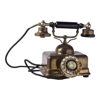 European Style Mid-Century Phone For Sale