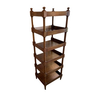 Baker Furniture Milling Road 6 Shelf Etagere For Sale