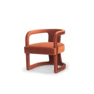 Rory Side Chair in Rust Preview