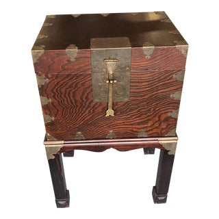 Asian Trunk on Stand For Sale