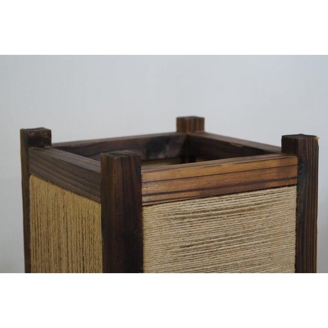 Asian Arts & Crafts Kojima Style Floor Lamp - Pair - Image 10 of 10