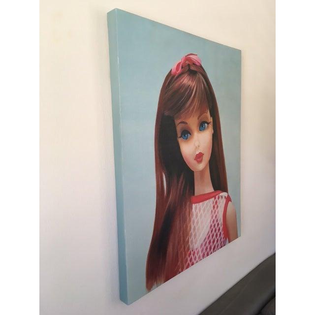 """""""Twist 'N Turn"""" Barbie Oil Painting For Sale - Image 4 of 11"""