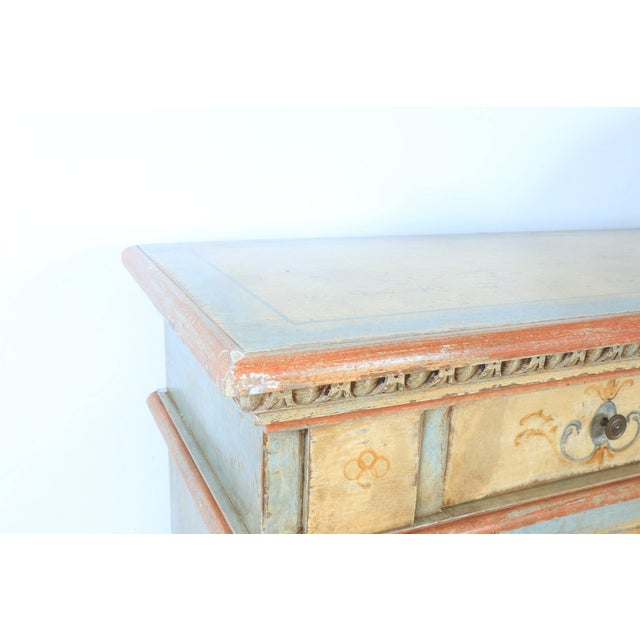 1970s Hand Painted Italian Cabinet For Sale - Image 11 of 13