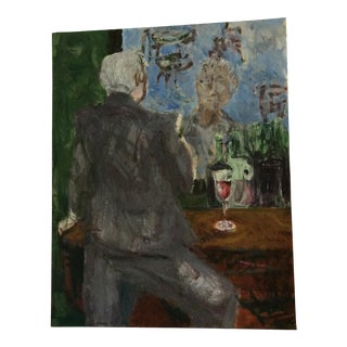 Homme Oui Bar Painting For Sale
