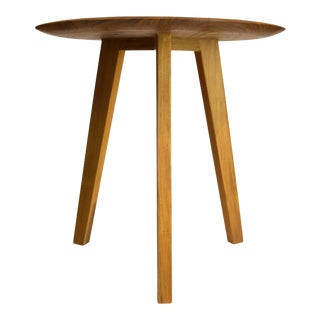Mid-Century Modern Saucer Side Table/Stool For Sale