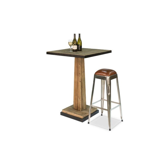 Sarreid Ltd. Sarried Ltd Patrick Bar Table For Sale - Image 4 of 6
