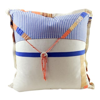 Textile Artist Made Pillow For Sale