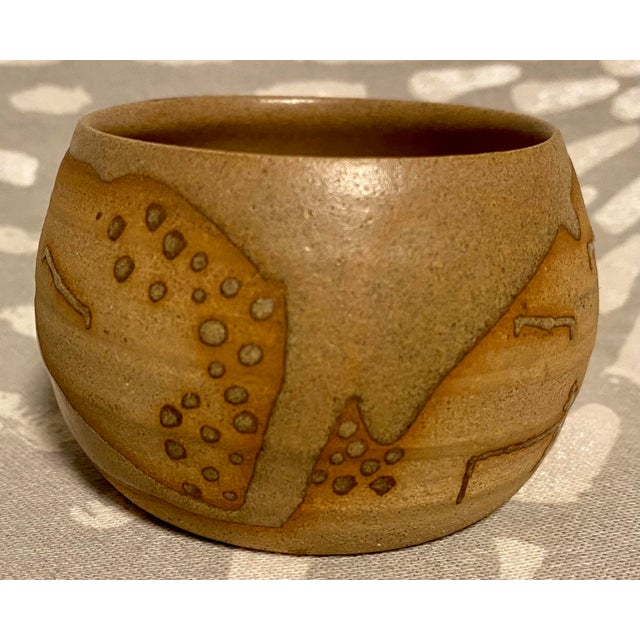 Vintage Hand Crafted Novelty Studio Pottery Miniature Pot For Sale - Image 4 of 8