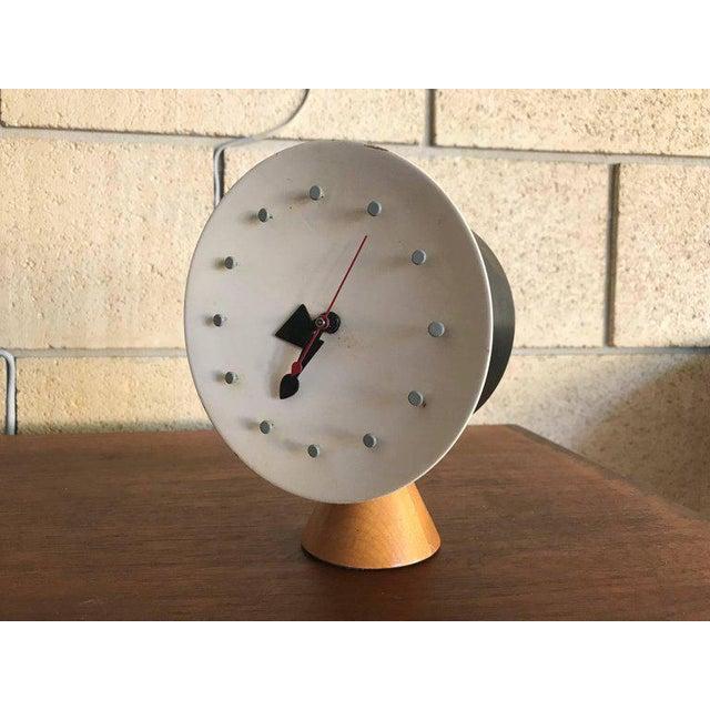 George Nelson & Irving Harper for Howard Miller Table Desk Clock, 1951, Works For Sale - Image 11 of 13