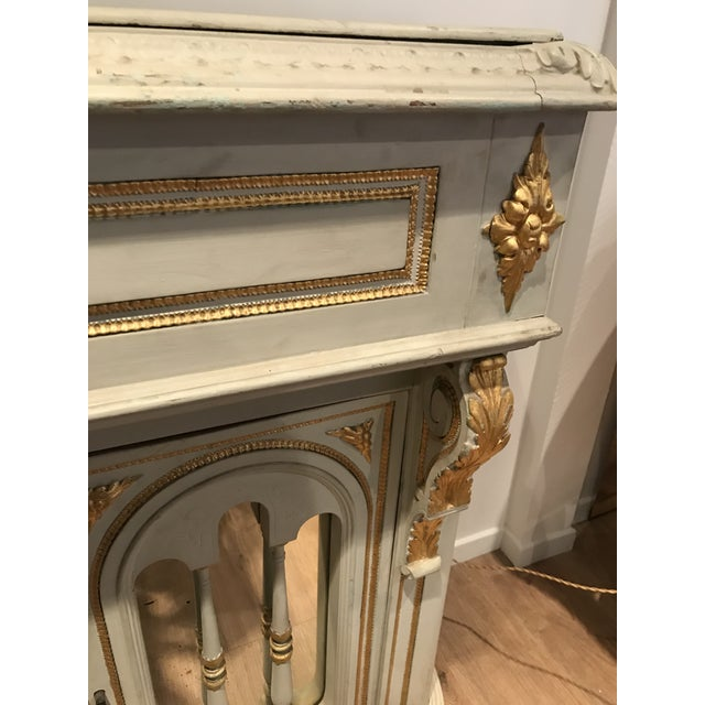 French Antique Napoleon III Console For Sale - Image 3 of 9