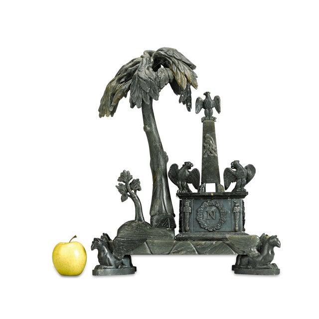 Ceramic Nephrite Napoleonic Tomb Sculpture For Sale - Image 7 of 8